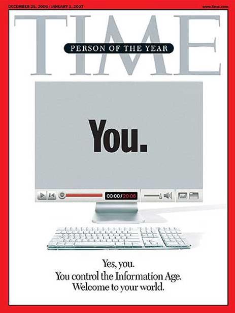 2006년 타임(Time)지 올해의 인물 특별호 표지